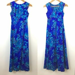 Vintage Maier Specialty Shops Size 4 Maxi Dress